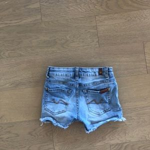 Seven Mankind Kids Jean Shorts
